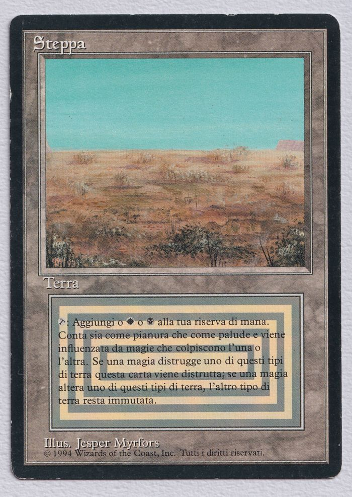 【黒枠】《Scrubland》[3EDBB] 土地R