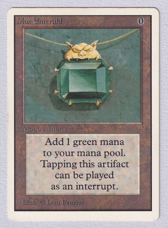 《Mox Emerald》[2ED] 茶R